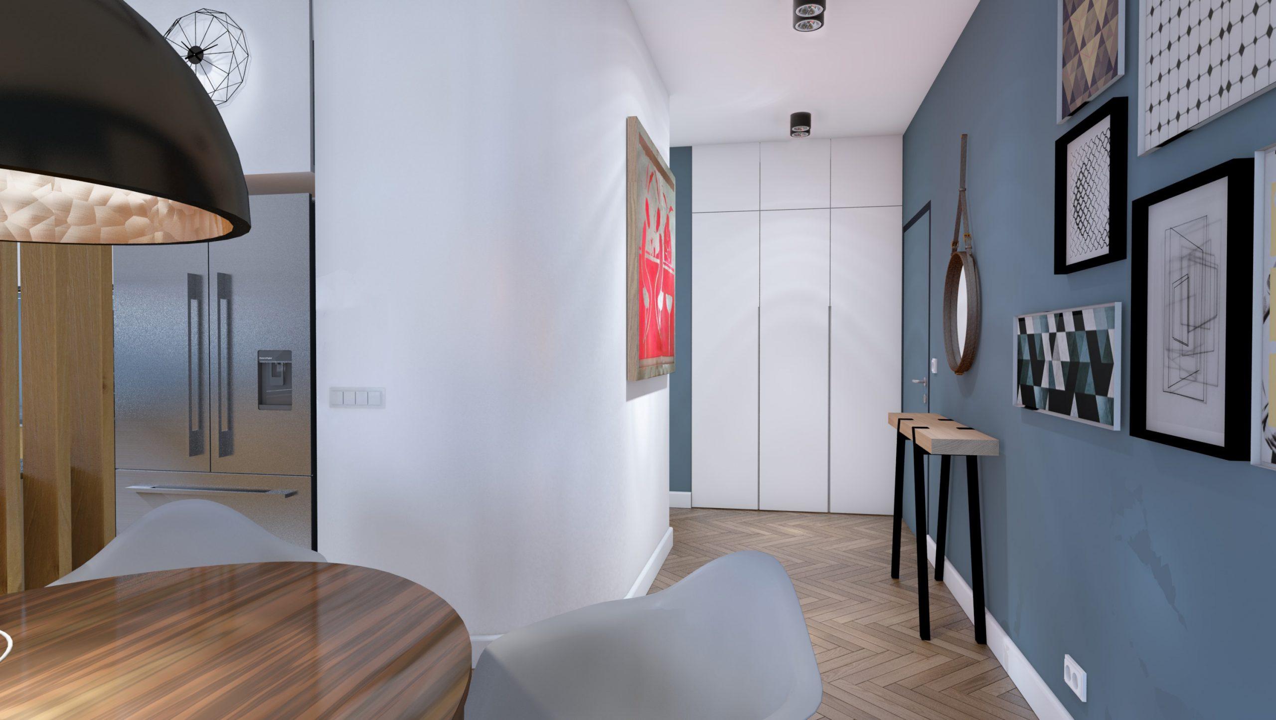 Apartament Narbutta - Hol
