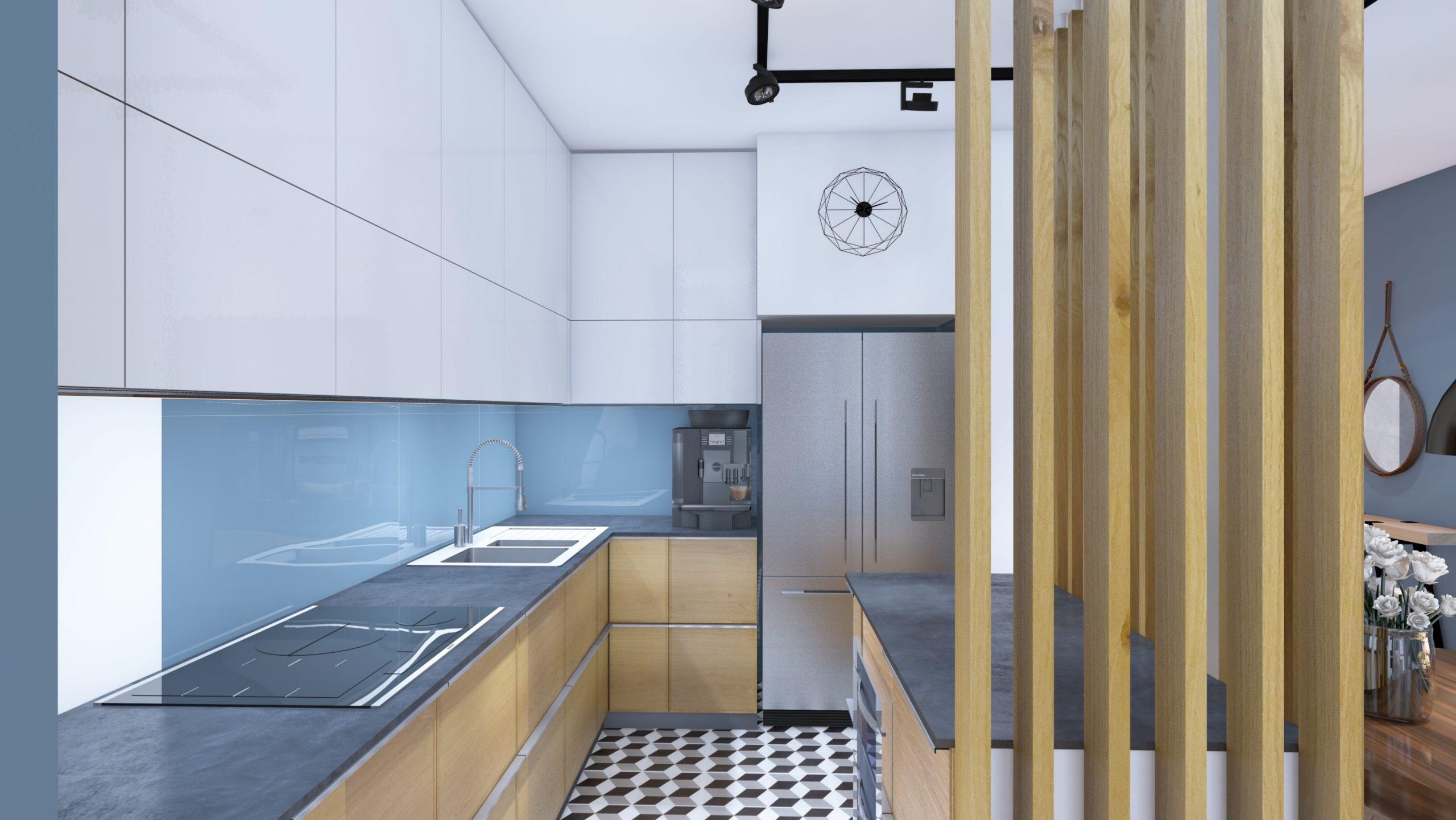Apartament Narbutta - Kuchnia