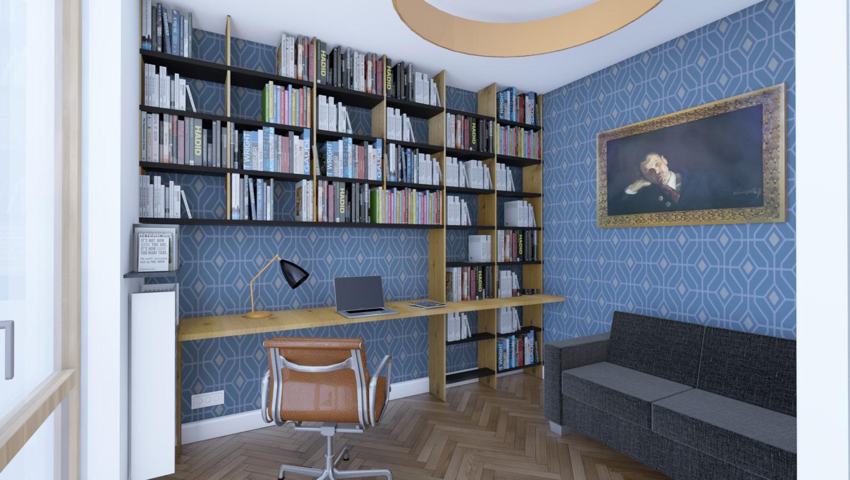 Apartament Narbutta - Gabinet