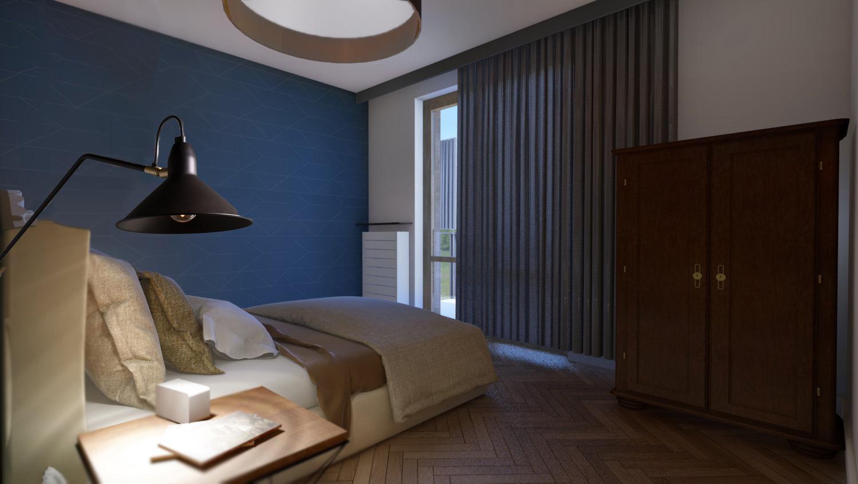 Apartament Narbutta - Sypialnia 2