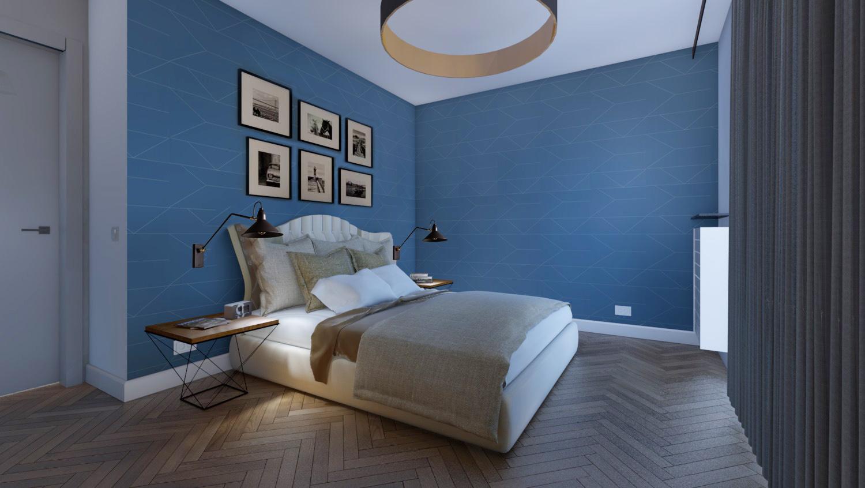 Apartament Narbutta - Sypialnia