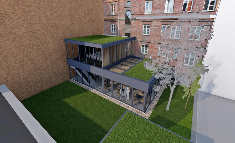 Aparthotel Stalowa 52 - koncepcja